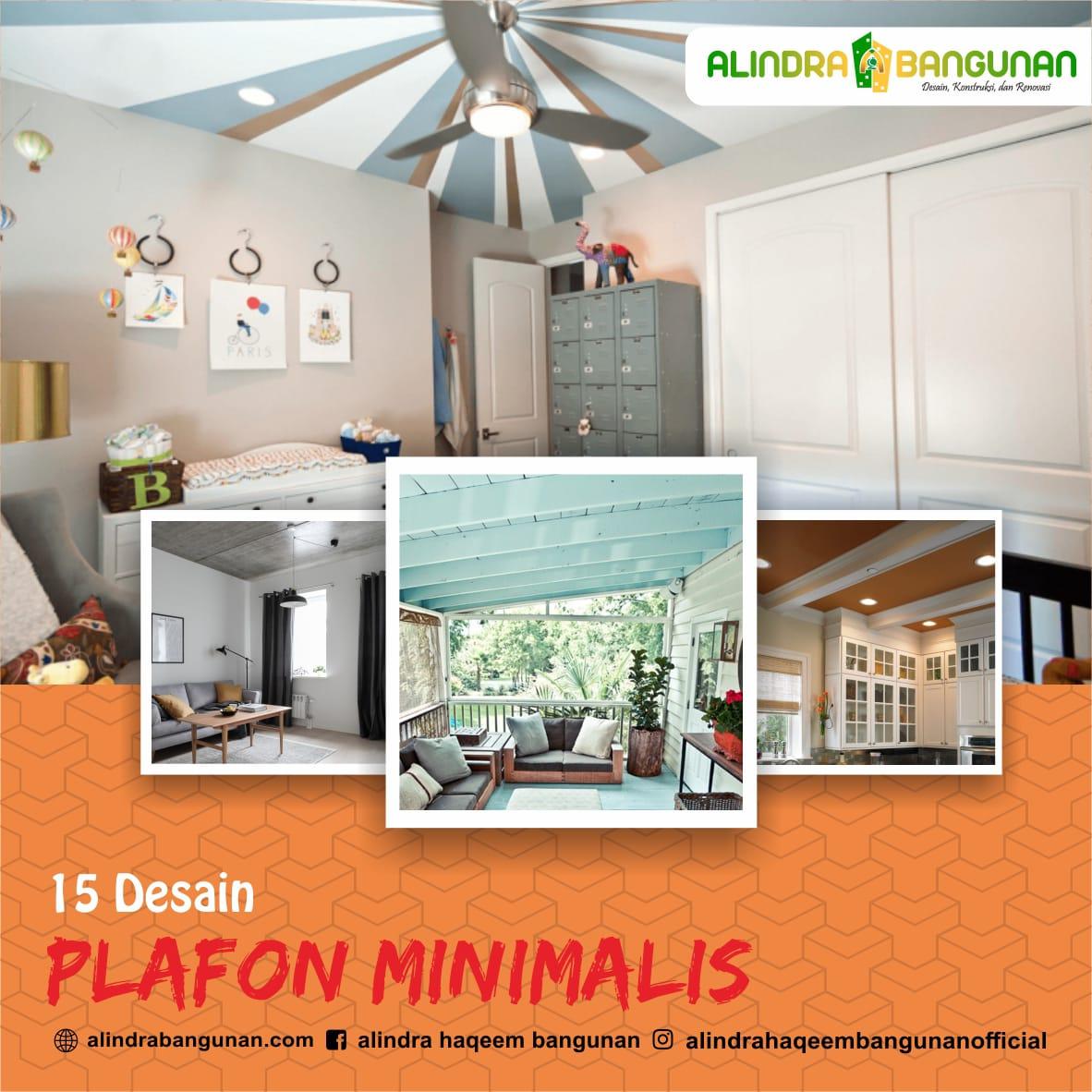 Pentingnya Jasa Desain: 15 Desain Plafon Minimalis Untuk Rumah Kecil, Yang Bisa